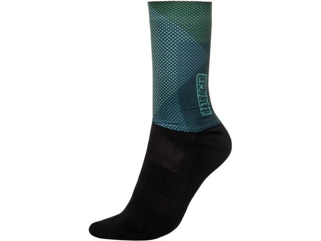 Bioracer Summer Socks, verde/negro